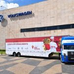 Carretas do Conhecimento da Fundação Grupo Volkswagen chegam a Resende