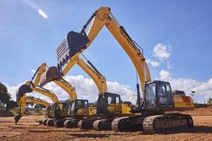 New Holland Construction aperfeiçoará oferta global de escavadeiras