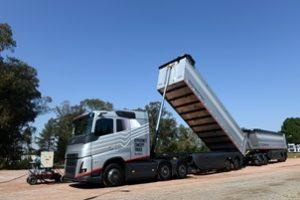 Volvo apresenta o Efficiency Concept Truck, o caminhão graneleiro do futuro