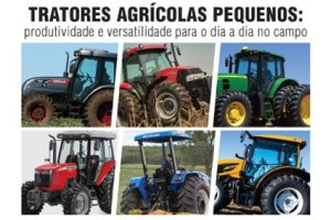 Tratores agrícolas pequenos: produtividade e versatilidade para o dia a dia no campo